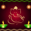 Indian God Ganesha — Stock Photo