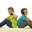 Who Are You Calling — Stock Photo