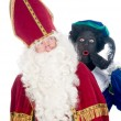 Stock Photo: Saint Nicholas and his helper