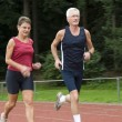 Running Seniors — Stock Photo #5919045