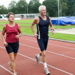 Running Pensioners — Stock Photo #5919049