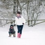 Having Fun In The Snow — Stock Photo #5919148