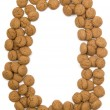 Royalty-Free Stock Photo: Ginger Nut Alphabet O