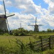 Dutch Windmills - Stock Photo