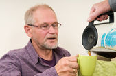 Coffee Refill — Stock Photo