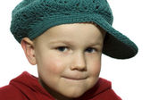 Little Boy with Hat 1 — Stock Photo