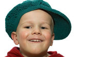 Little Boy with Hat 2 — Stock Photo