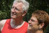 Happy senior couple -1 — Stock Photo