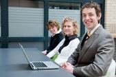 Negocios en una oficina — Foto de Stock