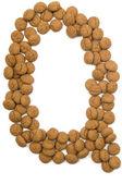Ginger Nut Alphabet Q — Stock Photo