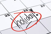 Finally Holiday — Foto Stock