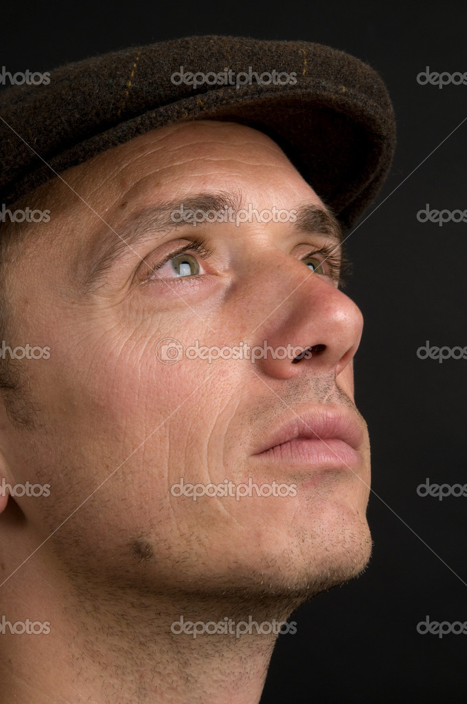 Young Man Thinking About The Future — Stock Photo #5918643