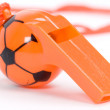 Royalty-Free Stock Photo: Orange whistle