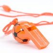 Orange whistle — Stock Photo