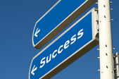 Success Roadsign — Stock Photo