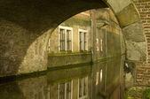 Utrecht (Netherlands) by night — Stock Photo