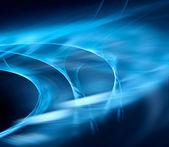 Mavi soyut - güneş rüzgarı — Stok fotoğraf