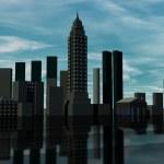 Skyline 3D render — Stock Photo #5927100