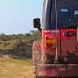 Red offroad car — Stock Photo #5996536