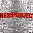 Business words related with word Success - Stock Photo