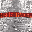Business words related with word Trademark — Stock Photo