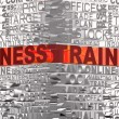 Business words related with word Training - Stock Photo