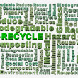 Royalty-Free Stock Photo: Recycle words related