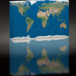 Puzzle world image — Stock Photo