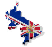 Illustration of united kingdom of great britain — Stock Photo