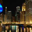 Stock Photo: Chicago at night