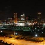 Baltimor at night — Stock Photo