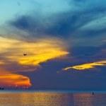 Sunrise over Atlantic ocean — Stock Photo
