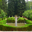 Garden in Alcazar Palace — Stock Photo
