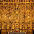 Altarpiece in the Cathedral of Seville - Stock Photo