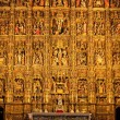 Altarpiece in the Cathedral of Seville — 图库照片