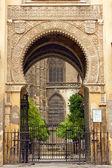 Vchod do věže la giralda — Stock fotografie