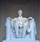 Statue of Abraham Lincoln — Stock Photo