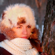 Young woman in winter outwear - Photo