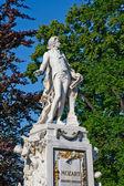 Estatua de mozart — Foto de Stock