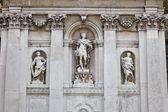 Facade of a Church in Venice, Italy — Stock Photo