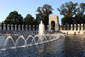 WWII Memorial in Washington DC — Stock Photo