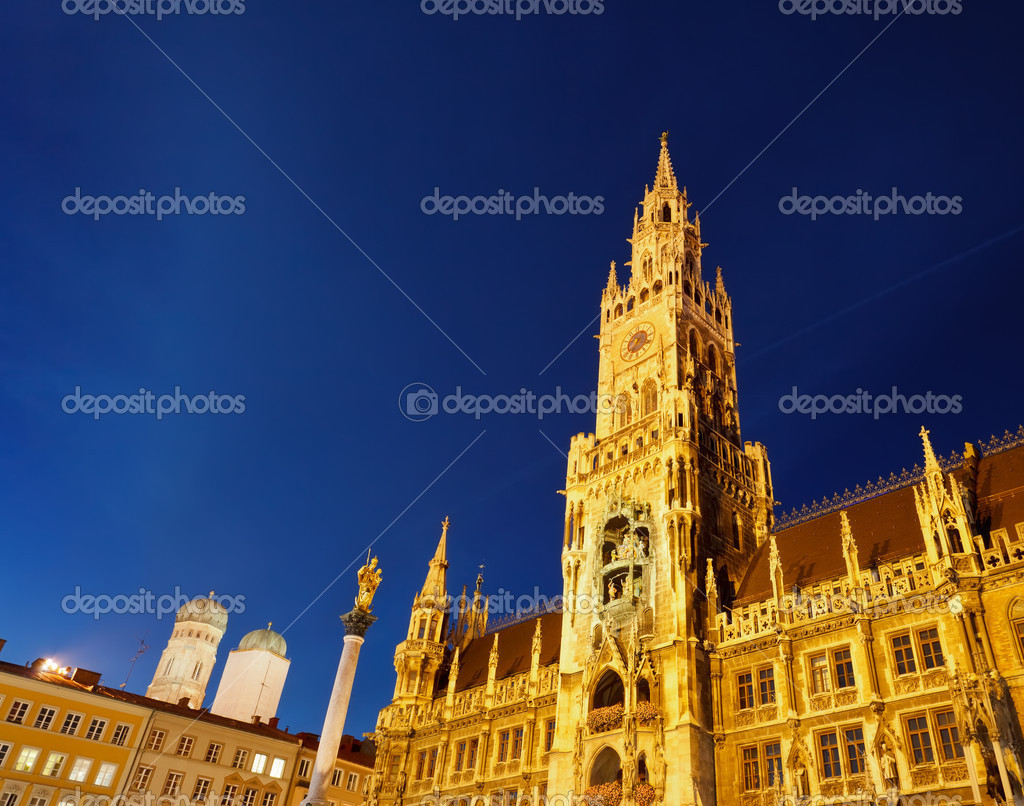 New Town Hall in Munich, Germany — Stock Photo #5961200