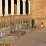Plaza de Espana, Sevilla — Stock Photo