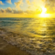 Stock Photo: Sunrise over ocean