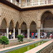 Stock Photo: Alcazar in Sevilla
