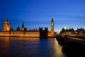 Big ben en de huizen van het parlement — Stockfoto
