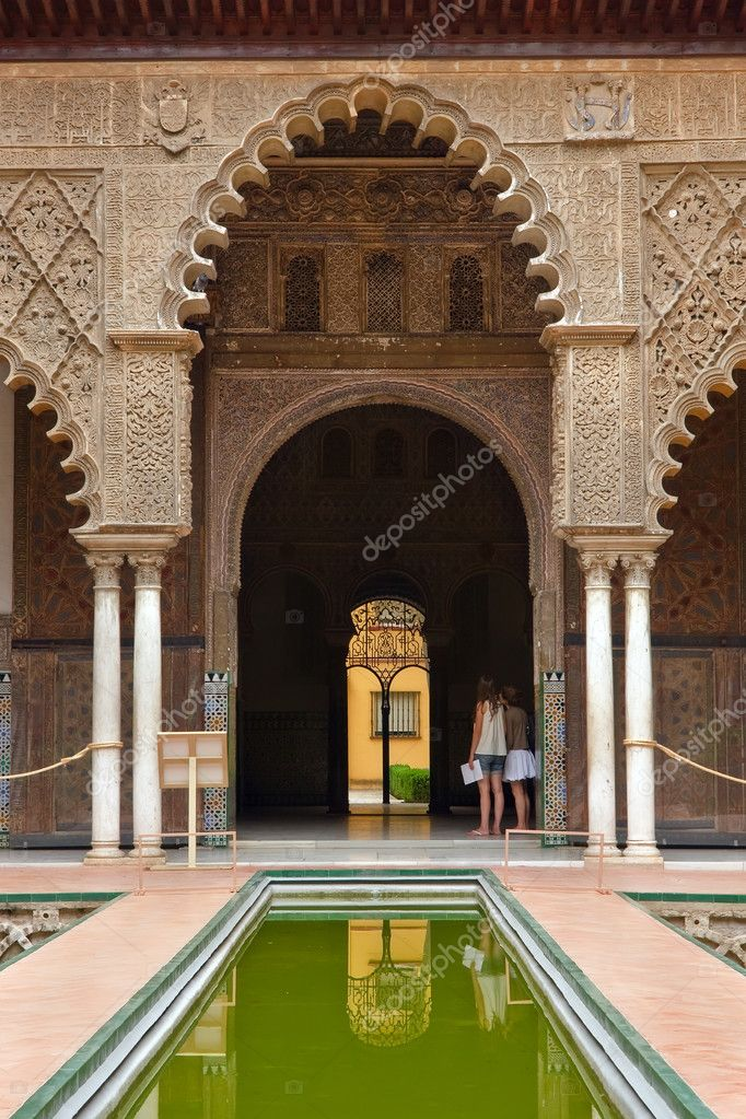 Alcazar in Sevilla, Spain — Stock Photo #6004629