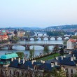 View on Prague Bridges — Stock Photo #6016480