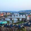 View on Prague Bridges — Stock Photo #6016480