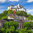 Stock Photo: Veiw on Hohensalzburg Fortress, Salzburg